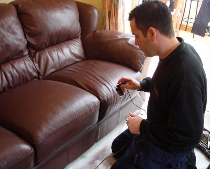leather sofa upholstery in Dubai
