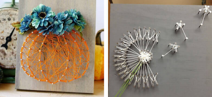 String inspired art projects and fun ideas
