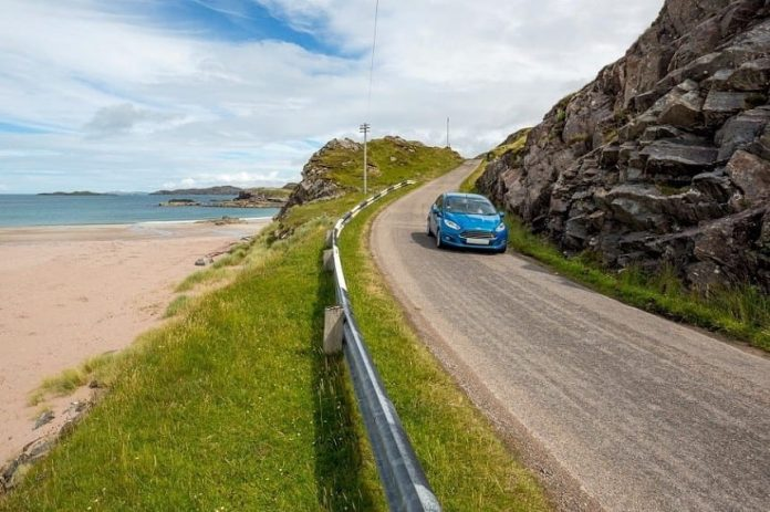 Driving Through Wales in Most Scenic Routes in a Rental Car